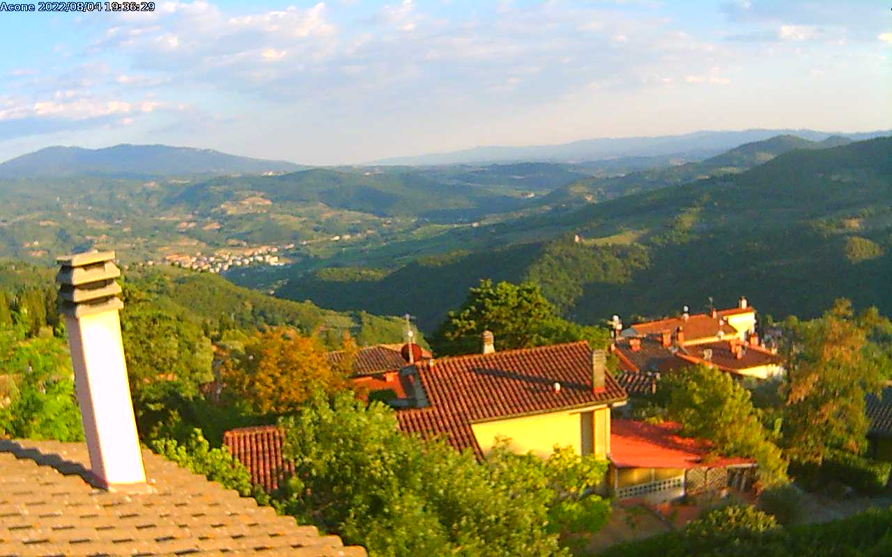 webcam Abetone vista monte gomito